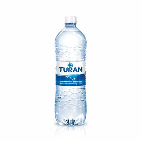 Вода минеральная TURAN б/газа 1 л пл/б КАЗАХСТАН
