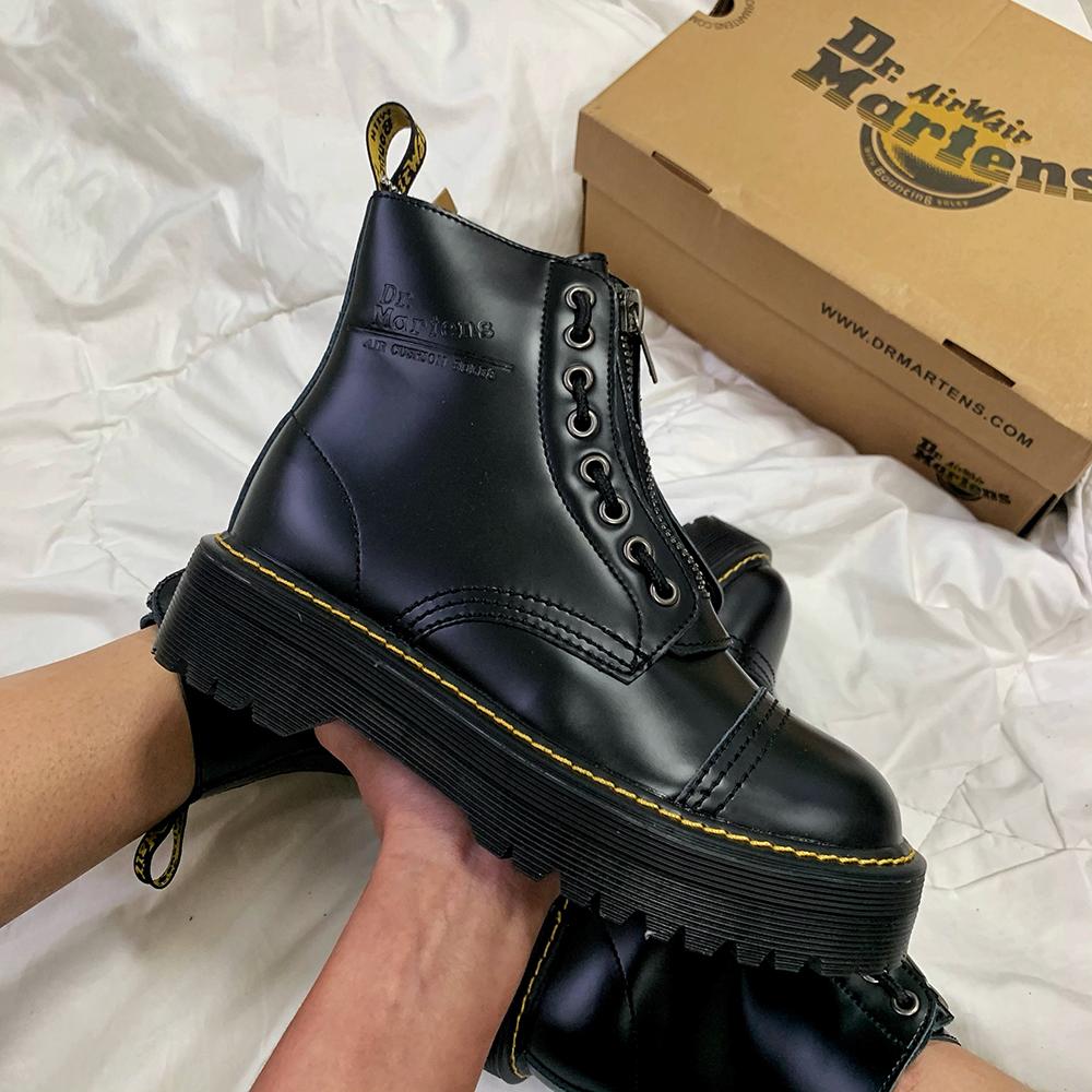 Dr.Martens Jadon Sinclair Boots Mate Black
