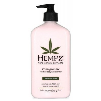 Hempz - Уход для тела: Молочко для тела увлажняющее с гранатом (Pomegranate Herbal Body Moistyrizer), 500мл