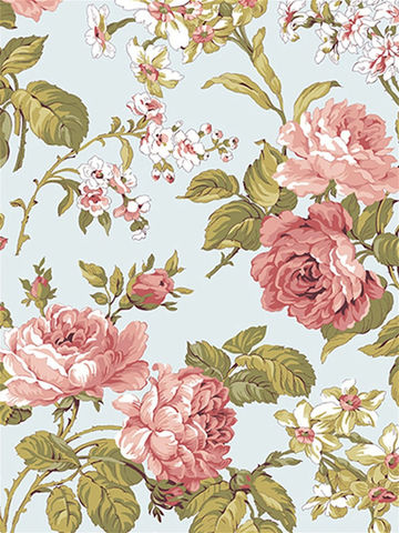 Простынь  -Прохоровская роза (новая)- 240х215 см евро
