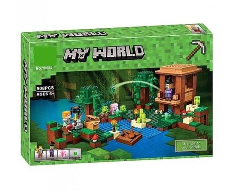 Конструктор My World 10622 Хижина ведьмы