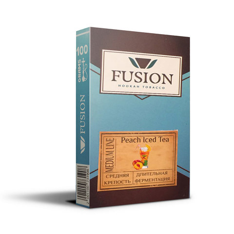 Табак Fusion Medium Peach Iced Tea 100 г