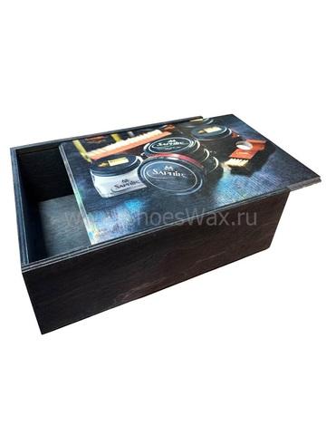 Ящик хранения для обувной косметики SAPHIR