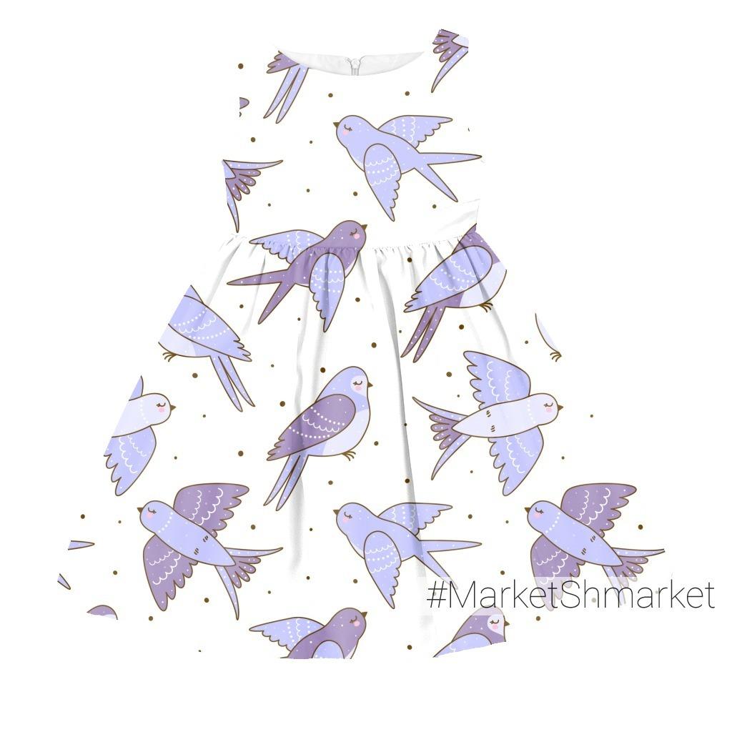 Полёт лиловых ласточек