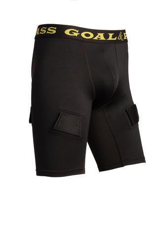 Компресс. шорты с раковиной и липучками G&P YTH M (140)