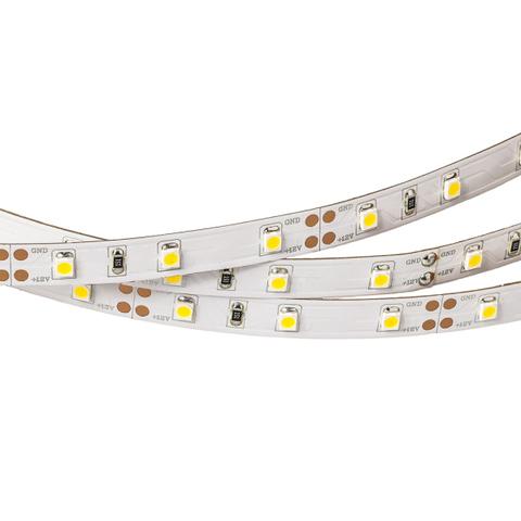 Светодиодная лента RT2-3528-60-12V Warm White (300 LED) (Norm, 4.8 Вт/м, IP20)