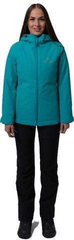 Премиальный теплый зимний костюм Nordski Pulse Malachite женский