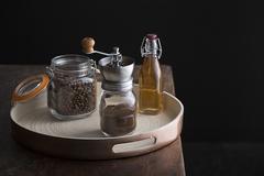 Мельница для кофе с банкой Kilner