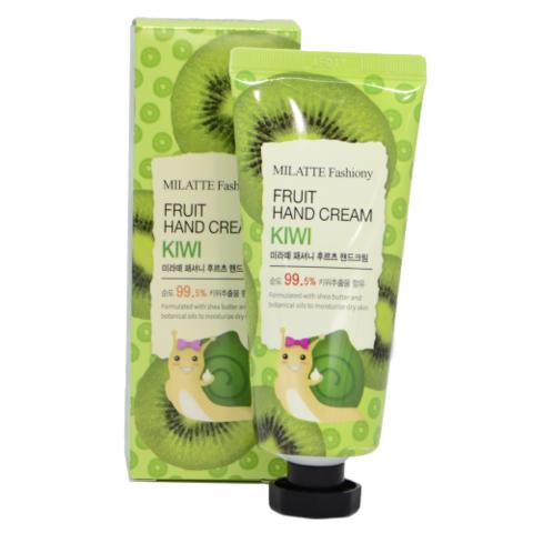 Milatte Fashiony Fruit Hand Cream Kiwi крем для рук с экстрактом киви