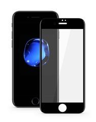 Защитное стекло для iPhone 7/8 plus полноэкранное 5D черное