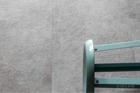 Клеевая виниловая плитка Vinilam Ceramo Glue 61609 Цемент