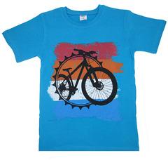 2648-9 футболка детская, голубая