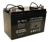 Аккумулятор General Security GS 150-12 ( GS12-150 ) ( 12V 150Ah / 12В 150Ач ) - фотография