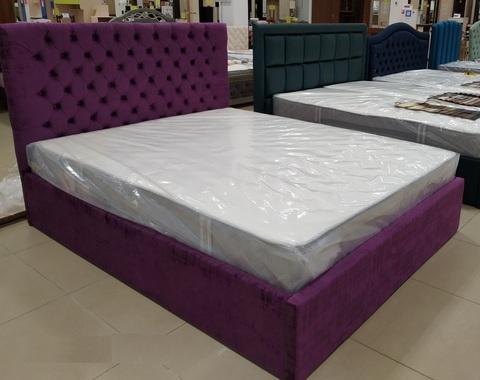 Кровать мягкая Лотос
