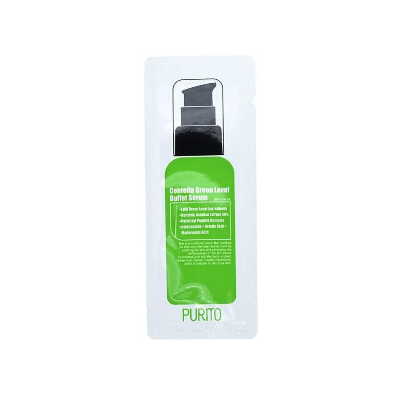 Сыворотки для лица Сыворотка для лица PURITO Centella Green Level Buffet Serum (sample) purito-centella-green-level-buffet-serum.jpg