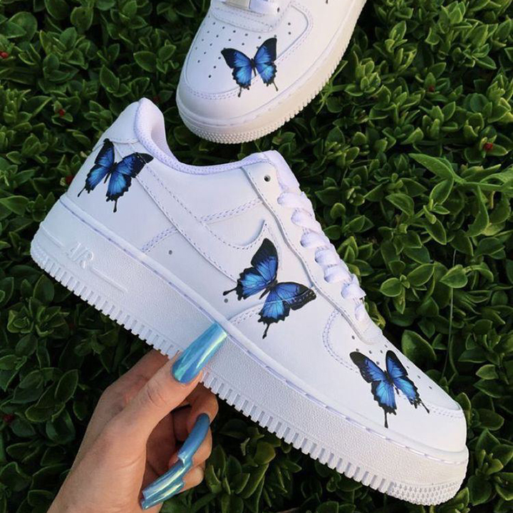 Nike Air Force 1 07 //  Blue Butterfly