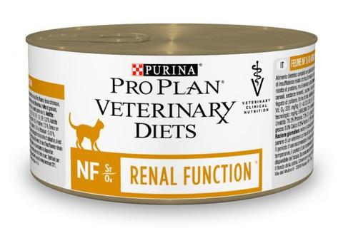 Консервы Purina Pro Plan Veterinary Diets NF для взрослых кошек с патологией почек,  195 г