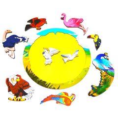 Зоопазл Экзотические птицы Нескучные Игры