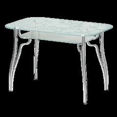 Стол стеклянный прямоугольный Л2