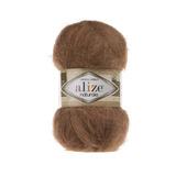 Пряжа Alize Naturale 137 табачно-коричневый