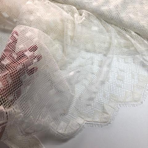 Кружевное полотно SH Молочное 115810-G