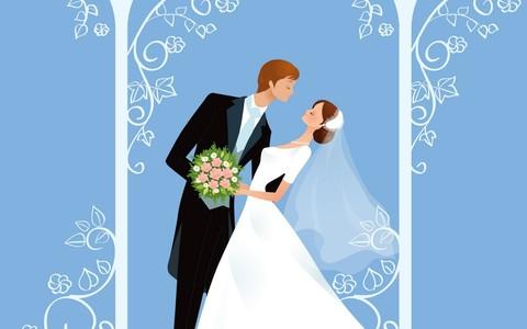 Печать на сахарной бумаге, Свадьба 8