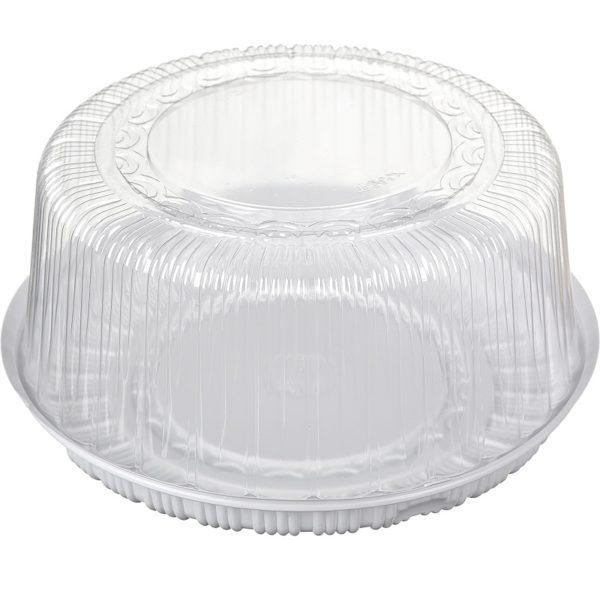 Пластиковая коробка для торта (внутренний диаметр 30см)