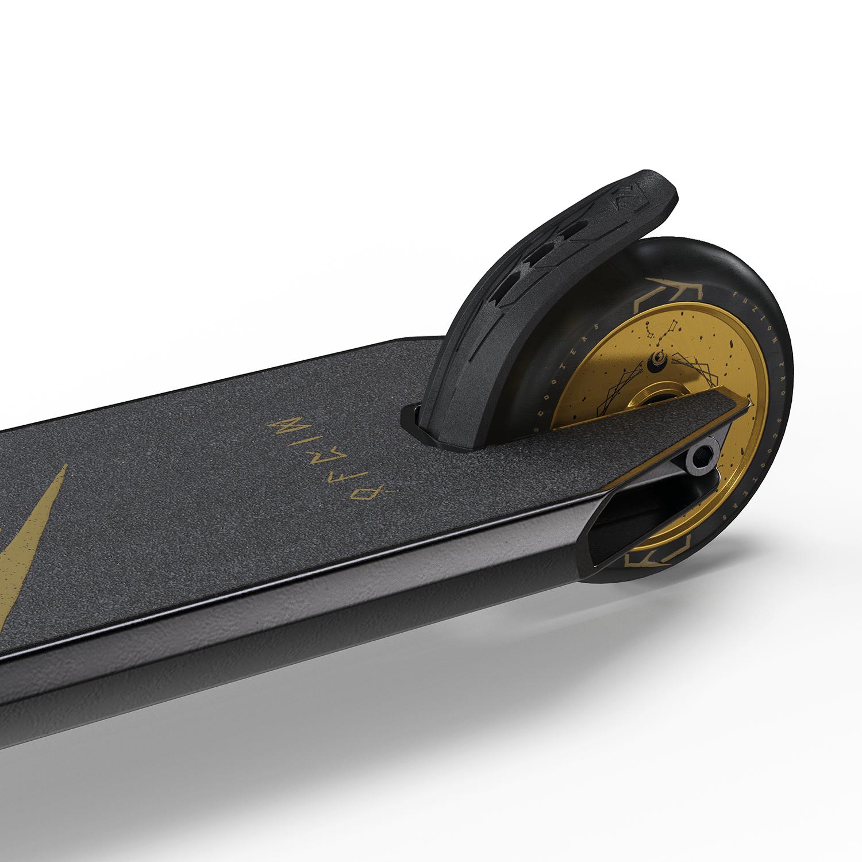 Трюковой самокат FUZION Z350 2021 (Black/Gold)