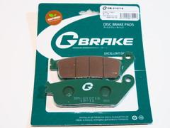 Тормозные колодки G-brake 01071S Honda CB 500 600 CBR 500 600