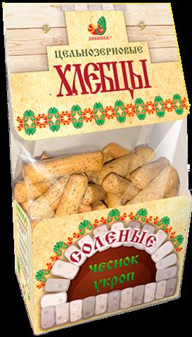 Хлебцы цельнозерновые соленые