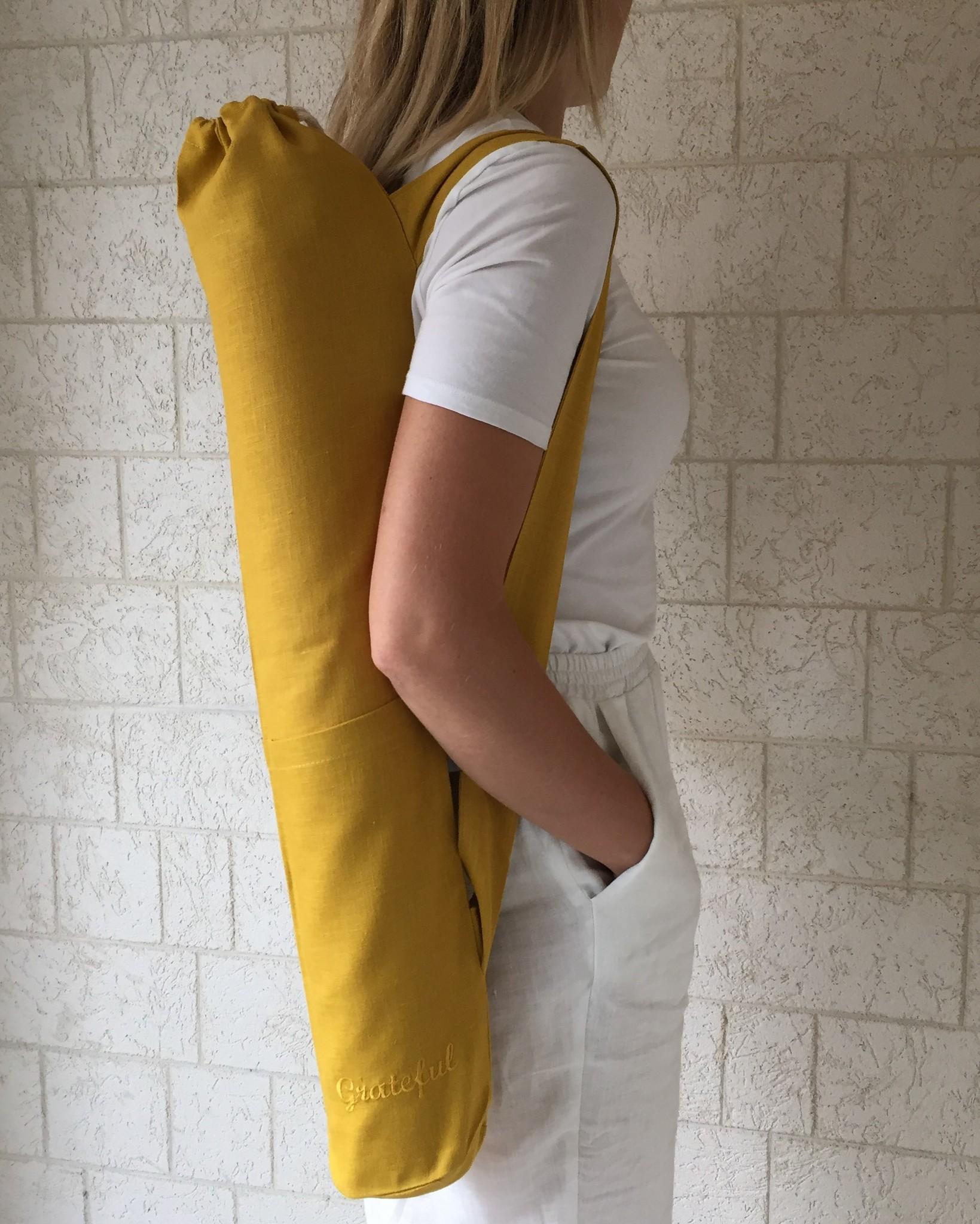 Сумка - чехол для йога коврика
