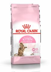 Корм для стерилизованных котят, Royal Canin Kitten Sterilised,  с момента операции до 12 месяцев
