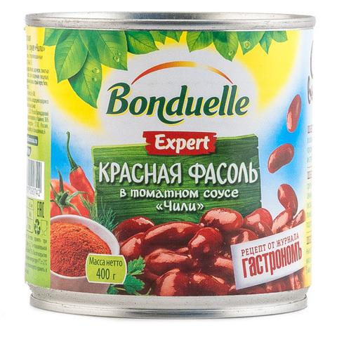 """Фасоль """"Bonduelle"""" красная в соусе Чили, 400 г"""