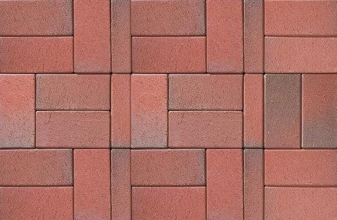 ABC Recker-bunt, 200x100x52 - Тротуарная клинкерная брусчатка