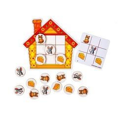 Логическая игра Умные мыши из фетра
