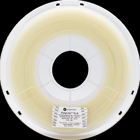 PolyMaker PolyLite PLA, 1.75 мм, 1 кг, Натуральный