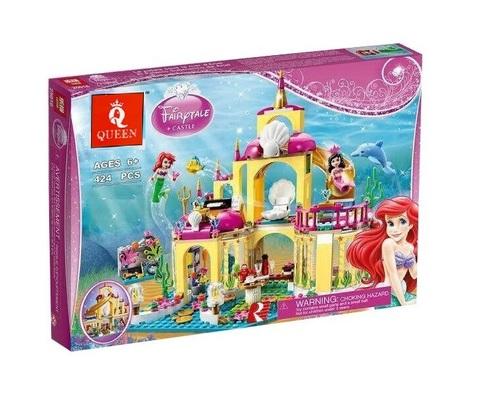 Конструктор Queen Fairytale 85014 Подводный дворец Ариэль