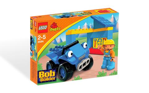 LEGO Duplo: Мастерская Боба 3594 — Bob's Workshop — Лего Дупло