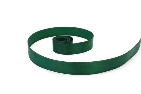 Лента атласная,2 см, яркая зелень