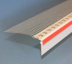 Профиль-капельник ПВХ с армир.сеткой L=2,5м