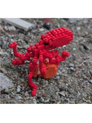 Конструктор Wisehawk Осьминог обыкновенный 142 детали NO. C23 Common octopus Gift Series