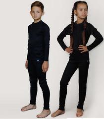Детский комплект термобелья Nordski Warm 2021 Black