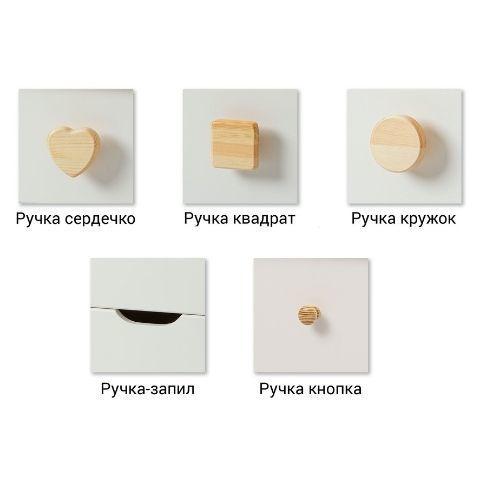 Ручки серии мебели Кидс