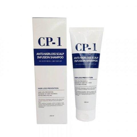 Esthetic House Шампунь против выпадения волос CP-1 Anti hair Loss Scalp Infusion Shampoo, 250 мл
