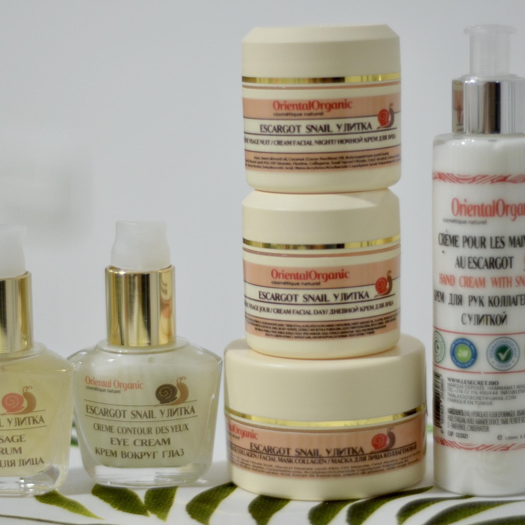 Oriental Organic Маска для лица коллагеновая с улиткой