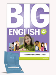 Big English 4 Student eText OAС_2020