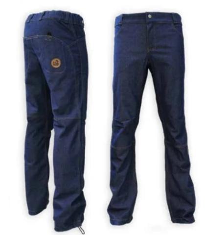 Брюки для скалолазания Hi-Gears MegaTop 4 season blue jeans (синие джинсы)