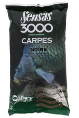 Прикормка Sensas 3000 CARP Noire 1кг