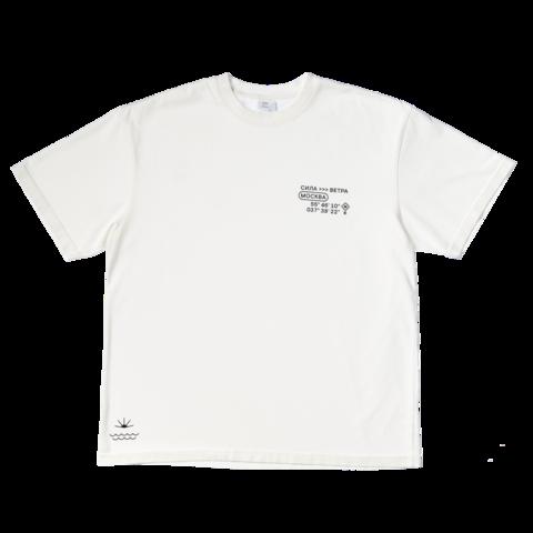 Белая футболка Силы ветра 21