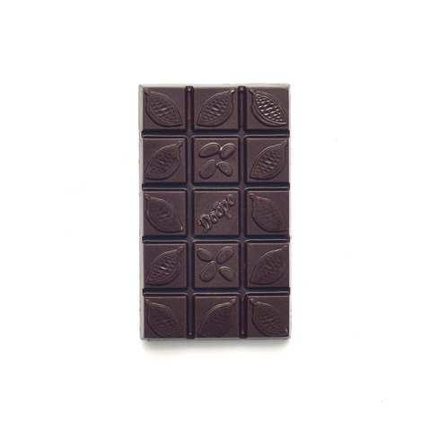 Детский шоколад молочный, 54% какао на меду с белым виноградом, 50 гр.